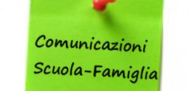 Modalità di comunicazione con le famiglie e incontri scuola famiglia.