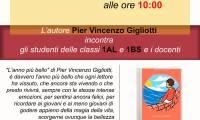 Incontro con l'autore Pervincenzo Gigliotti.