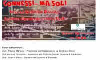 """Evento """"Connessi ma…SOLI"""" in collaborazione con l'Associazione Città Solidale Onlus."""